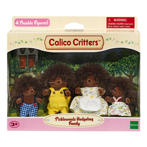 Calico Critters - Pickleweeds Hedgehog Family