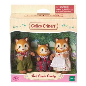 Calico Critters - Red Panda Family