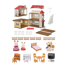 Load image into Gallery viewer, Calico Critters - Red Roof Country Home Gift Set