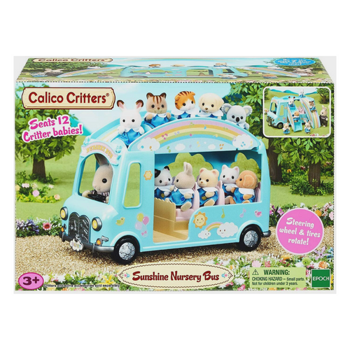 Calico Critters - Sunshine Nursery Bus