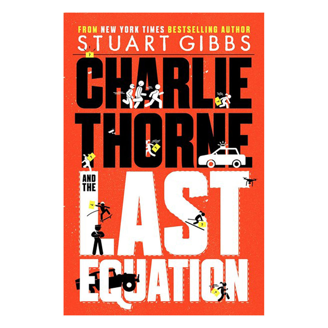 Charlie Thorne and the Last Equation by Stuart Gibbs - book cover