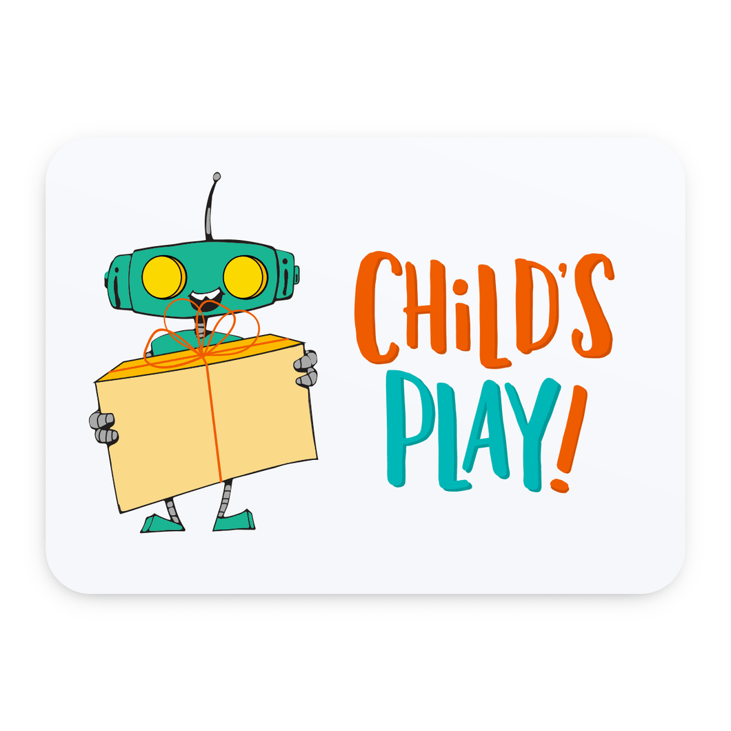 Child's Play Gift Certificate