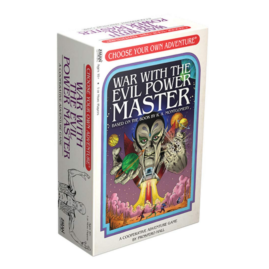 Choose Your Own Adventure Board Game - War with the Evil Power Master