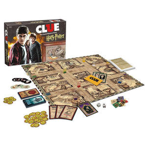 Clue: Harry Potter game pieces