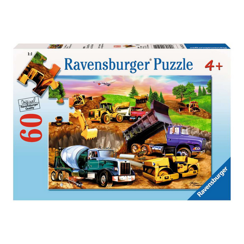 Construction Crowd 60-Piece Puzzle