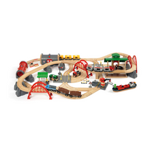 Load image into Gallery viewer, BRIO Train Deluxe Railway Set