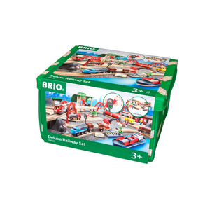 BRIO Train Deluxe Railway Set