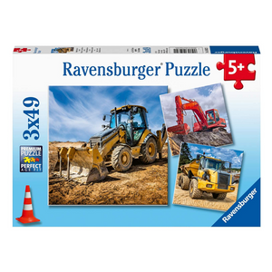 Diggers at Work 49-Piece Puzzle