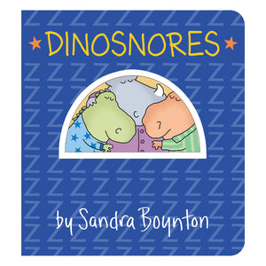 """Dinosnores"" by Sandra Boynton - book cover"