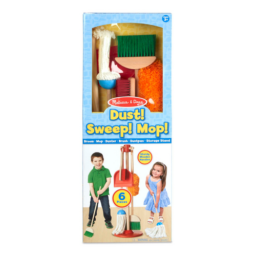 Dust Sweep and Mop Play Set