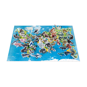 Endangered Animals 200-Piece Puzzle