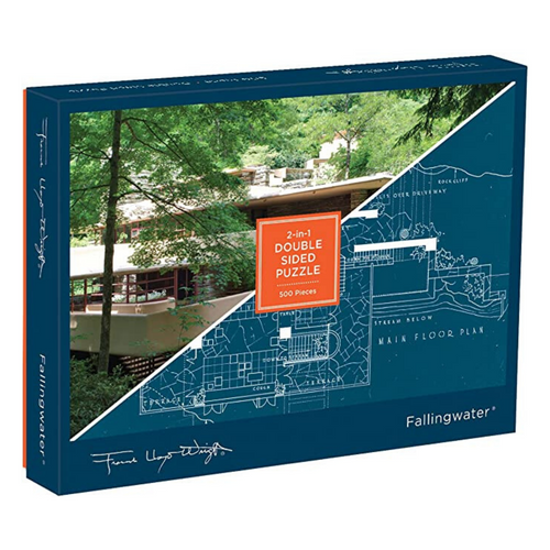 Frank Lloyd Wright's Fallingwater 500-Piece Puzzle