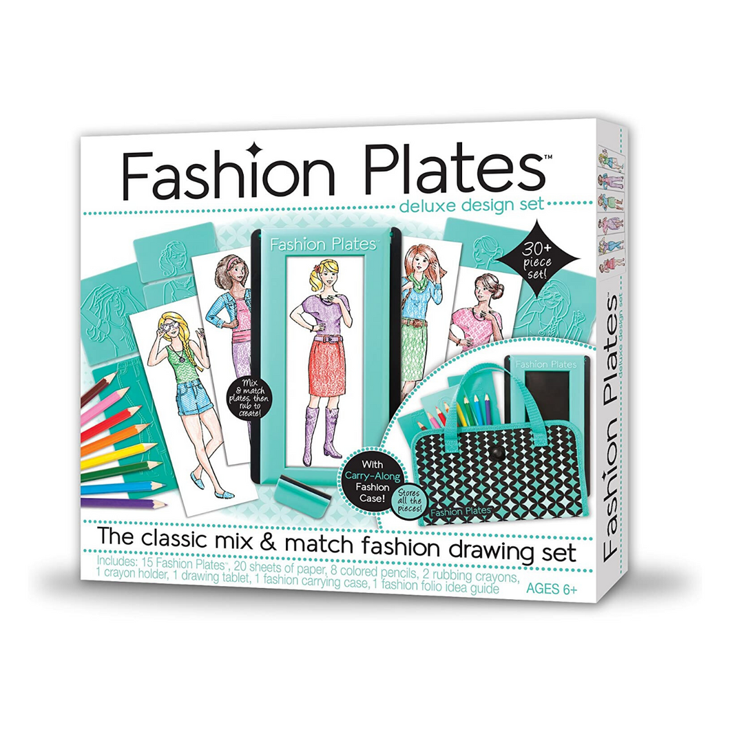 Fashion Plate Deluxe Kit