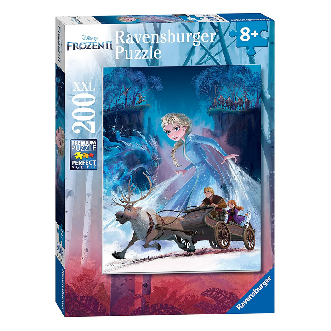 Frozen: The Mysterious Forest 200-Piece Puzzle