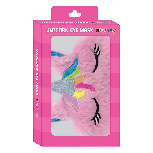 Furry Unicorn Eye Mask