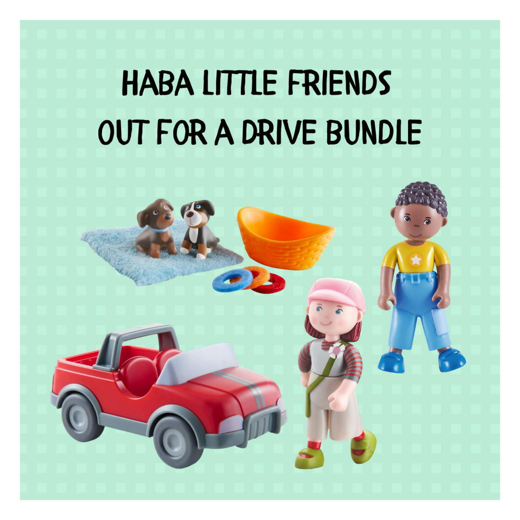 HABA Little Friends Out for a Drive Bundle