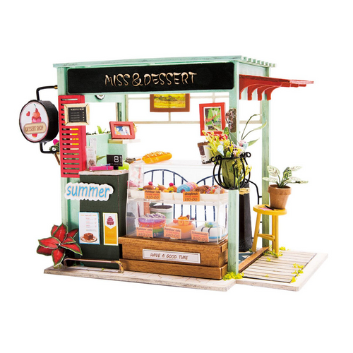 DIY Miniature Model Dessert Shop