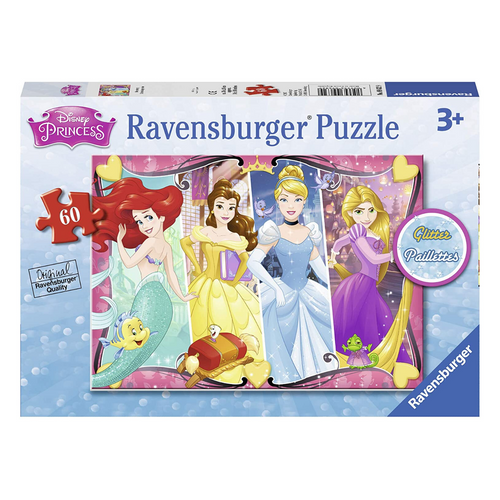 Disney Princess: Heartsong 60-Piece Glitter Puzzle