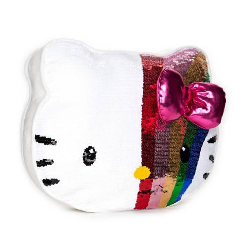 Helly Kitty Sequin Pillow