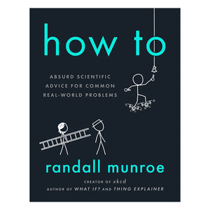 How to by Randall Munroe - book cover