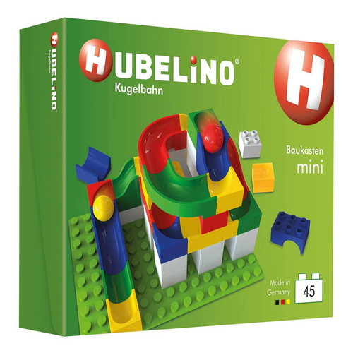Hubelino Marble Run: 45-Piece Mini Set
