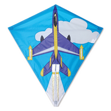 "Load image into Gallery viewer, Kite 30"" Diamond Jet Plane"