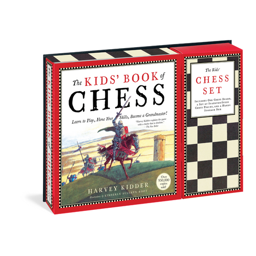 Kids Book of Chess & Chess Set