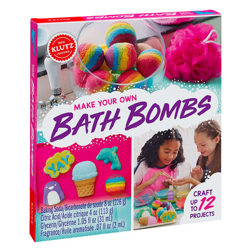 Klutz Make Your Own Bath Bombs box