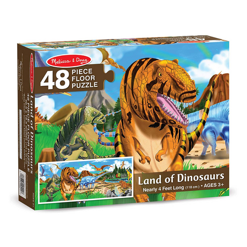 Land of Dinosaurs 48-Piece Floor Puzzle
