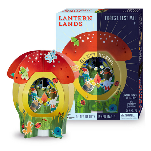 DIY Lantern Lands - Forest Festival