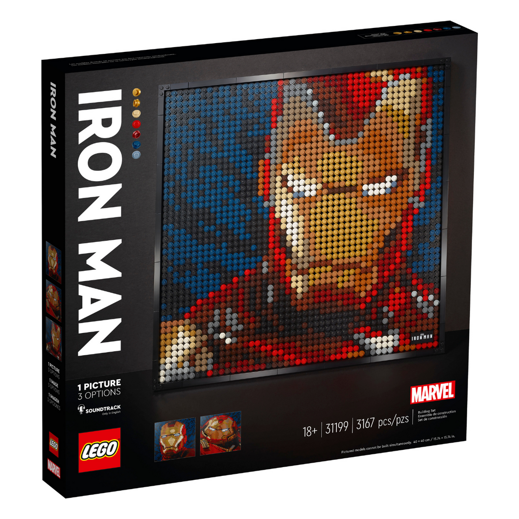 LEGO Art Marvel Studios Iron Man