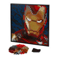 Load image into Gallery viewer, LEGO Art Marvel Studios Iron Man