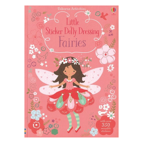 Little Sticker Dolly Dressing Fairies activity book cover