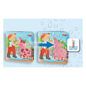 Wash Away Bath Book - Farm Animals