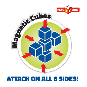 Magicube Magnetic Cubes attach on all 6 sides