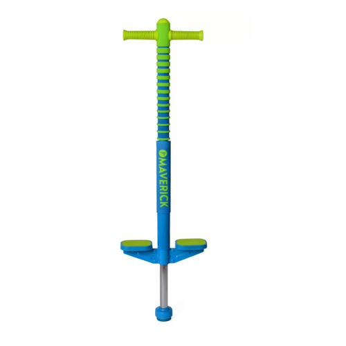Maverick Pogo stick in blue/green