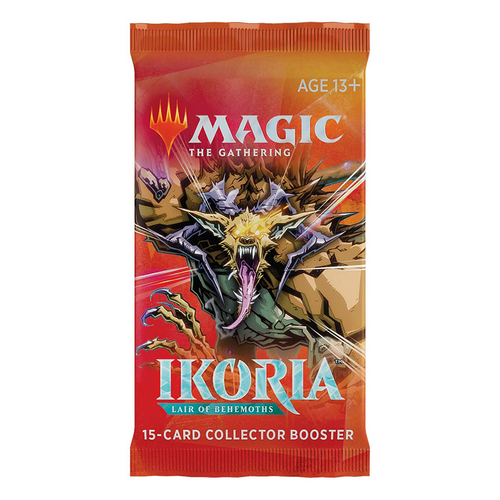 Magic the Gathering: Ikoria Rare Collector Booster Pack