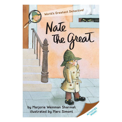 Nate the Great by Marjoire Sharmat - book cover