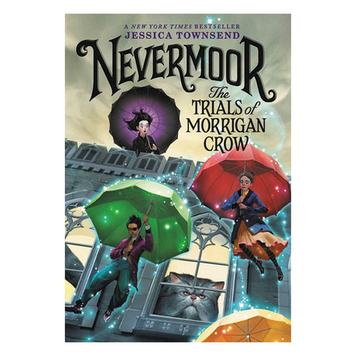Nevermoor by Jessica Townsend - book cover
