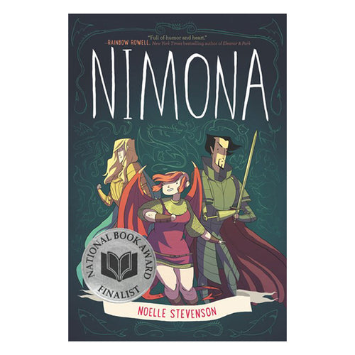 Nimona by Noelle Stevenson - book cover