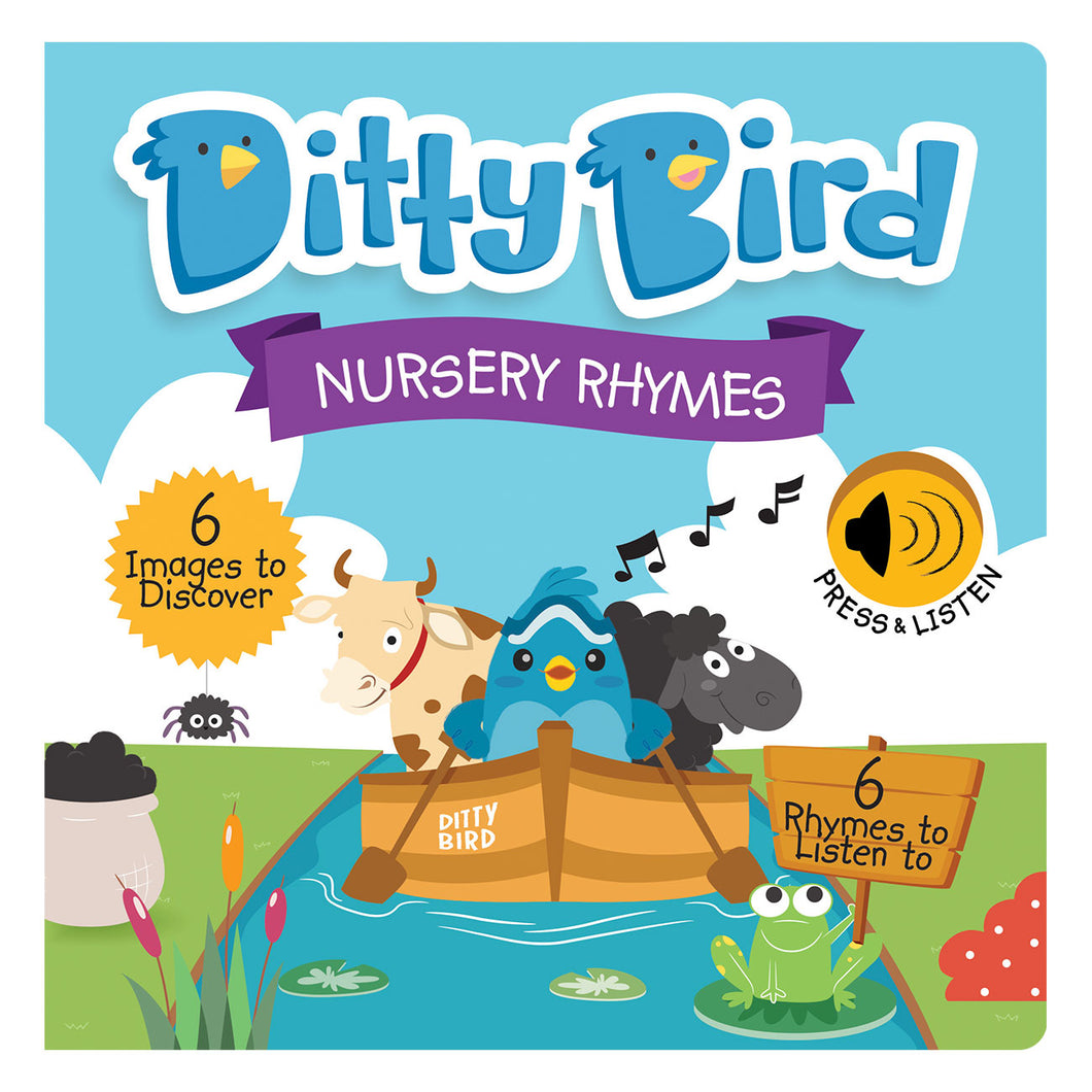 Nursery Rhymes Sound Book by Ditty Bird - book cover