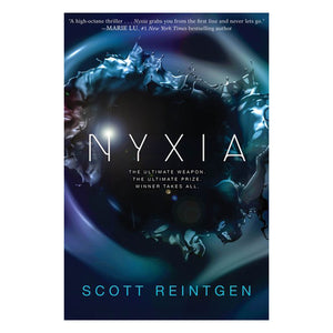 Nyxia by Scott Reintgen - book cover