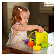 Load image into Gallery viewer, Child playing with Oombee Cube