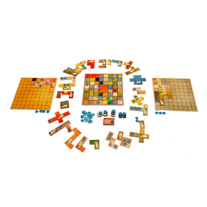 Patchwork game components