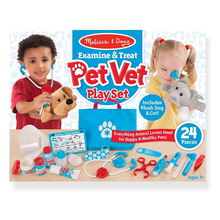 Load image into Gallery viewer, Pet Vet Play Set
