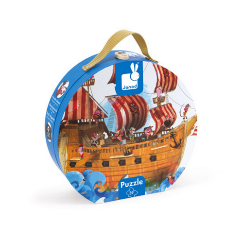 Pirate Ship Giant Floor 39-Piece Puzzle