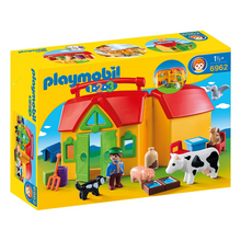 Load image into Gallery viewer, Playmobil 123 Take Along Farm