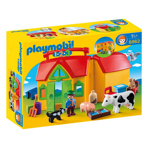 Playmobil 123 Take Along Farm