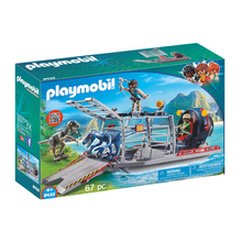 Load image into Gallery viewer, Playmobil Enemy Airboat with Raptors