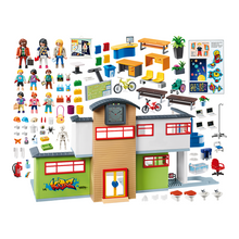 Load image into Gallery viewer, Playmobil Furnished School Building